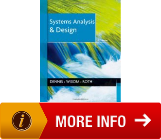 The Systems Analysis and Design